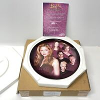 RARE BTVS - FRIENDS OF BUFFY - Collector Plate Limited Edition #166/500 Spike