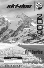 Ski Doo 2009 RF Tundra LT Freestyle Backcountry Legend Printed Owners Manual