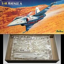 Heller 1/48 Rafale A Model Kit #80421 Excellent Condition Sealed Parts