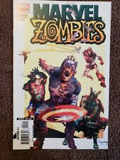 marvel zombies comic book lot 1-5
