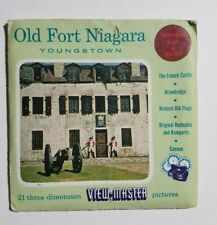 View-Master Old Fort Niagara Youngstown Ny, 83 A,B,C - 3 Reel Set