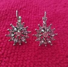 Earrings With Cz Nwot - Alfani Silver