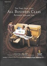 SINGAPORE AIRLINES 2008 THE FIRST NONSTOP ALL BUSINESS CLASS BETWEEN USA-ASIA AD