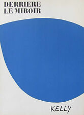 ELLSWORTH KELLY - LITHOGRAPH DERRIERE LE MIROIR # 110  (COVER)  FREE SHIP IN US