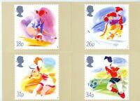 GB 1988 PHQ Cards Mint Set~Sport~(4)~PHQ-109~UK Seller