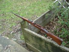 Siamese mauser rifle complete wood stock w all metal and barrel