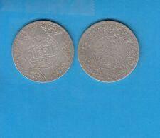 Gertbrolen Maroc   5 Dirhams (1/2Ryal)  1321 Paris  Silver Coin of Morocco