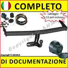 Gancio di traino fisso Seat Ibiza IV 6L1 2002- + kit elettrico 13-poli Rimorchio