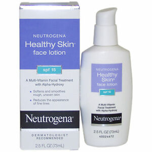 Neutrogena Healthy Skin Face Lotion 2.5 Fl. Oz SPF 15