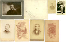 Photographic Images Men And Young Boys Set Of 5