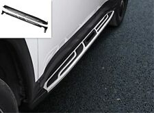 Stainless steel Side Pedal Step Board Foot Board trim For Jeep Compass 2017-2019