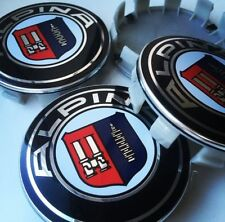 4x BMW Alpina Alloy Wheel Centre Caps Fits BMW Alloys 3 5 6 Series 68mm