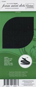 Couture Creations Adhesive 3D Foam Mini Dots Black  360pc