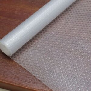 Bulk Roll - 45cm x 500cm Non-Slip Transparent Waterproof Drawer Shelf Liner Mat