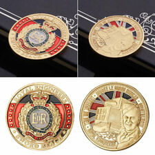 1pc ER Queen's badge Commemorative Coin