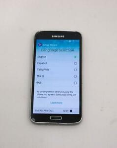 Samsung Galaxy S5 4G LTE 16GB SM-G900V Android Smartphone Verizon Gray Grade C 2