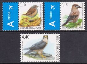 Belgium 2008 Birds Complete Mint MNH Set