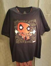 Pop Tee Funko Pop Deadpool Black T shirt XL Great Condition