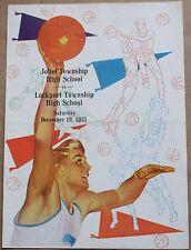 1953 Joliet Township High School vs. Lockport Twnshp Basketball Program Illinois