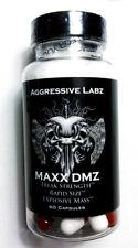 Aggressive Labz MAXX DMZ + M-Sten 60 Capsules (Super DMZ)