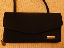 Wallet Organizer MINI Crossbody Shoulder Bag Purse Black Small EUC Evan Picone