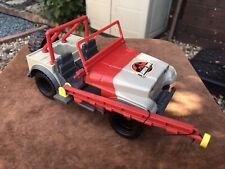 Jurassic Park Vintage Kenner Bush Devil Tracker Jeep 27 Wrangler Jeep