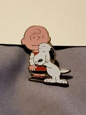 Vintage Peanuts Snoopy And Charlie Brown Pin