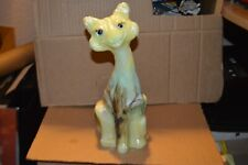 """Fenton Alley Cat With Hand Painted """"Almost Heaven� Number (46) 2013"""