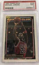 Michael Jordan 1992 Topps Gold #205 Mint PSA 9