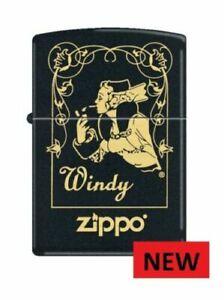 BRAND NEW  ZIPPO WINDY WINDOW  ZIPPO LIGHTER  FREE  UNITED  KINGDOM  SHIPPING