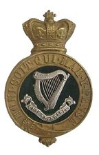 VICTORIAN THE CONNAUGHT RANGERS GLENGARRY OFFICERS BADGE