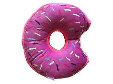 Donut Plush Pillow Stuffed Cushion 14 Inches (Pink Icing), ki