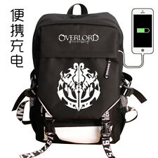 Overlord Backpack Harajuku School Bags Travelling Bag Holiday Gift Cosplay#01