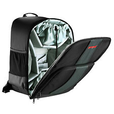 Neewer Waterproof Backpack Bag Case for DSLR SLR Camera and DJI Phantom (Black)