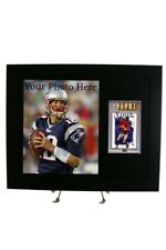 Sports Card Frame for YOUR BGS Graded Card & 8x10 Photo Opening (All New Black)