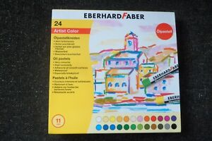 Eberhard Faber Oil Pastel Card (Box of 24) - Good condition