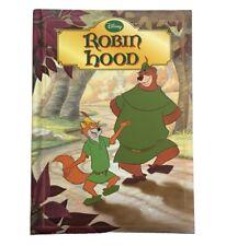 Disney ROBIN HOOD Storybook (2010) Parragon Hardback Book (28x20cm)