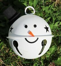 Christmas Hanging Snowman Bell  Xmas Tree Decor
