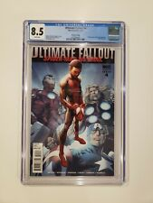 Ultimate Fallout #4 2nd Print 1st Miles Morales Spider-Man CGC 8.5 Key Marvel
