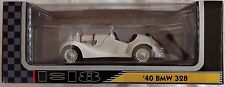 1940 Bmw 328 1:18 scale model white die cast toy car auto New Yat Ming