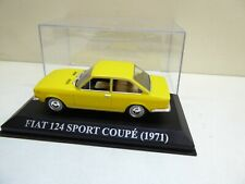 IXO - ALTAYA - 1/43 - FIAT - 124 - SPORT COUPE - FASTBACK - 1971 - TOP !