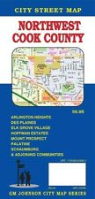 City Street Map of Northwest Cook Country, Illinois, by GMJ Maps