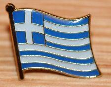 GREECE Greek Flag Country Metal Lapel Pin Badge