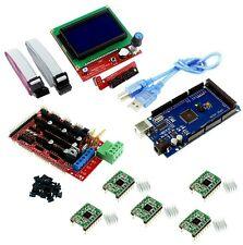 3d Printer kit Adruino mega 2560+ Ramps 1.4+ 5pcs A4988+ 12864 LCD Controller