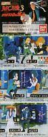 Rare 2000 Bandai Lupin The third 3rd Gashapon Figure Set of 6 HGIF Part 3