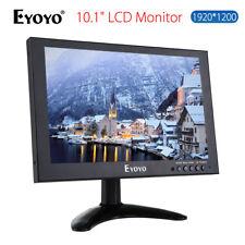 "EYOYO 10 ""IPS HD 1920 * 1200 VGA Handels HDMI LCD Monitor für CCTV DVD PC Spiel"