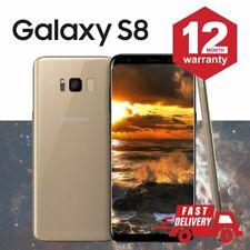 SAMSUNG GALAXY S8 64GB Android Cellulare Sbloccato 4G SIM Oro