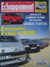 ECHAPPEMENT 1994 PEUGEOT 106 XSi 1.6 / FIAT COUPE 16V TURBO / OPEL CALIBRA TURBO