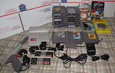 Top Loader Nintendo NES System Console 25 Game Bundle Super Mario 1 2 & 3 Zapper