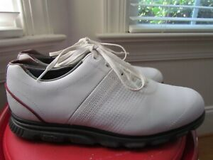 FOOTJOY DRYJOY CASUAL LEATHER MEN'S GOLF SHOES SIZE 9.5 WIDE